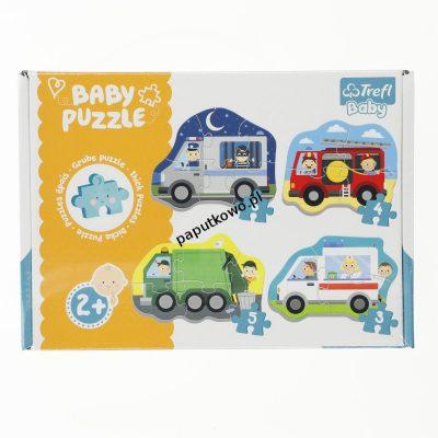 Puzzle Trefl puzzle baby classic pojazdy i zawody (36071)