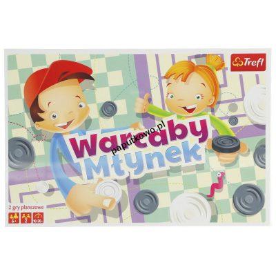 Gra strategiczna Trefl warcaby (01622)