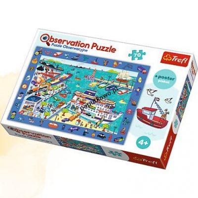 Puzzle Trefl obserwacyjne 70 odwiedzamy port 70 el. (15536)