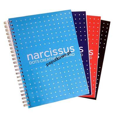 Kołozeszyt (kołobrulion) Narcissus A5 80k. (5902633001247)