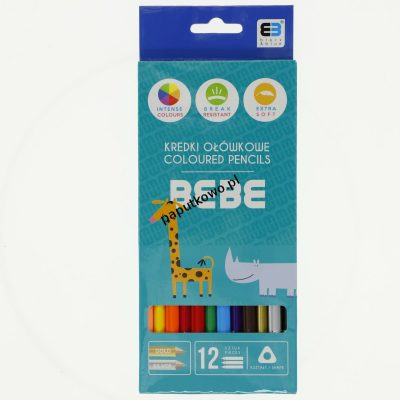 Kredki ołówkowe Noster BB KIDS (kredki)