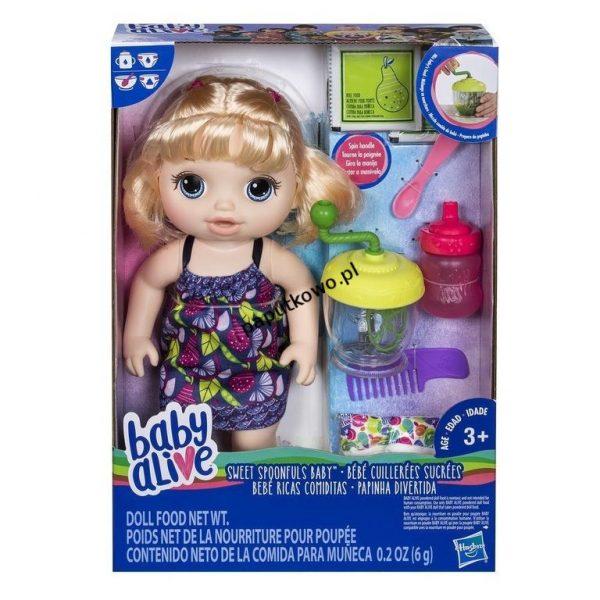 Lalka Hasbro Baby Alive słodka przekąska (E0586)