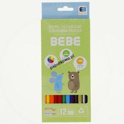 Kredki ołówkowe Noster BB KIDS pastel (kredki)