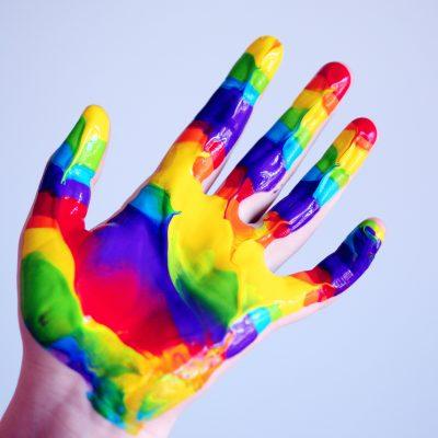 Farbki do malowania palcami